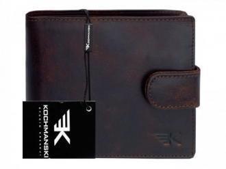 KOCHMANSKI skórzany portfel męski młodzieżowy 3072
