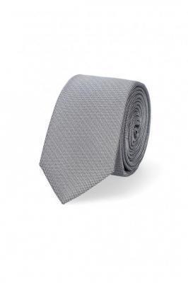 Krawat Szary w Mikrowzór