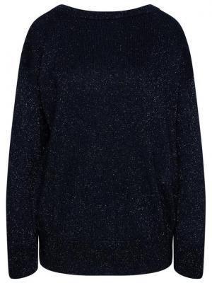 Max Mara Leisure Sweter Pilade 33610116 Granatowy Regular Fit