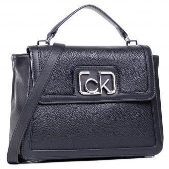 Torebka CALVIN KLEIN - Flap Top Handle Md K60K607091 BAX