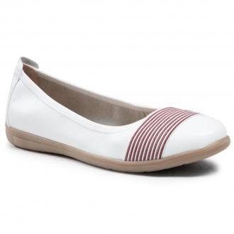 Baleriny JANA - 8-22106-26 White 100