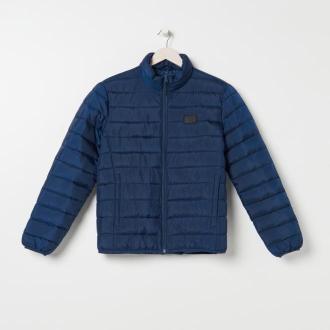 Sinsay - Pikowana kurtka przejściowa - Granatowy
