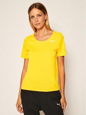 Nike Koszulka techniczna City Sleek CJ9444 Pomarańczowy Standard Fit