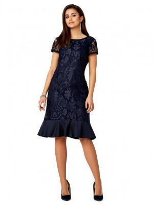 Suknia z trójwymiarowej tkaniny Potis & Verso TRINETTE