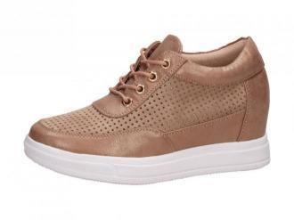 Złote sneakersy damskie M.DASZYŃSKI SA143-1