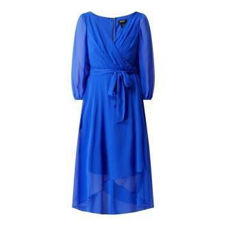 Sukienka z zakładką