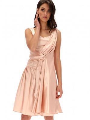 Sukienka z szarfą Potis & Verso ALBINA