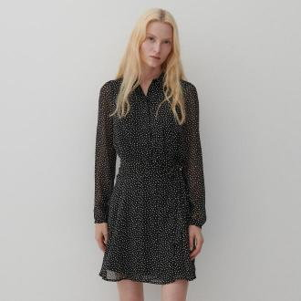 Reserved - Sukienka w groszki - Wielobarwny