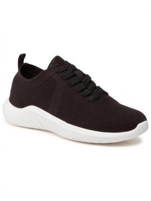 Clarks Sneakersy Nova Glint 261599834 Czarny
