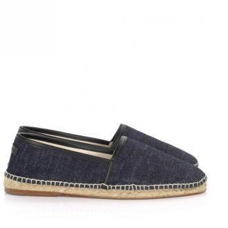 Dolce & Gabbana Espadryle niebieski jeans