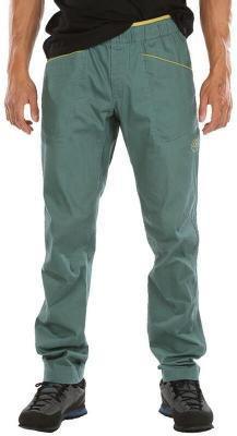 La Sportiva Pueblo Spodnie Mężczyźni, zielony S 2021 Spodnie wspinaczkowe