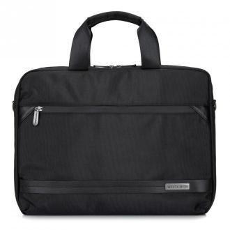 """Męska torba na laptopa 15,6"""" z krytym suwakiem duża"""