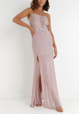 Liliowa Sukienka Orixis