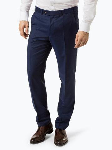 Digel - Męskie spodnie od garnituru modułowego – Per, niebieski