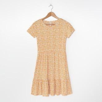 House - Wzorzysta sukienka mini - Wielobarwny