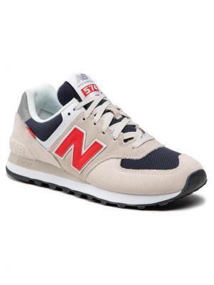 New Balance Sneakersy ML574SJ2 Beżowy