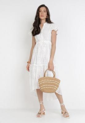 Biała Sukienka Thosoesa