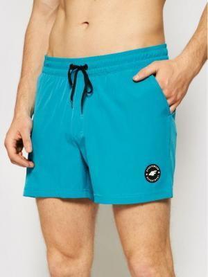 4F Szorty plażowe SKMT001 Niebieski Regular Fit