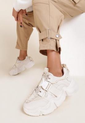 Beżowe Sneakersy Daisia