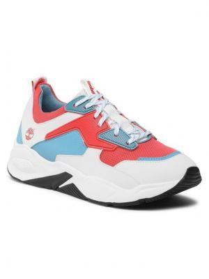 Timberland Sneakersy Delphiville Textile Sneaker TB0A234E801 Biały