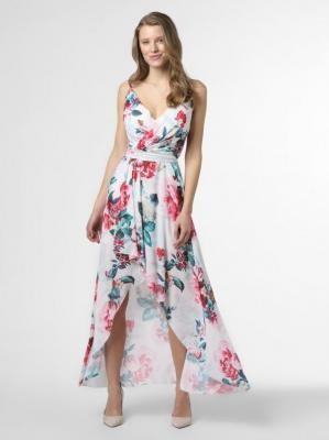 Lipsy - Damska sukienka wieczorowa, wielokolorowy