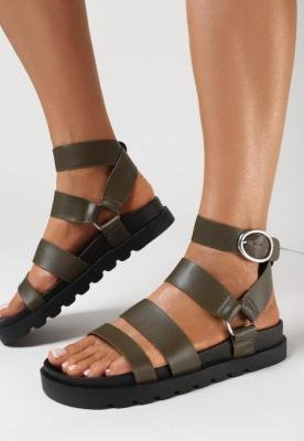 Khaki Sandały Mathedice
