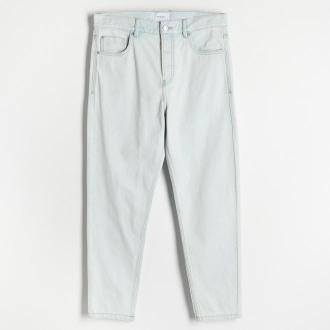 Reserved - Spodnie carrot - Niebieski
