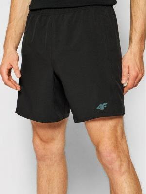 4F Szorty sportowe H4L21-SKMF012 Czarny Regular Fit