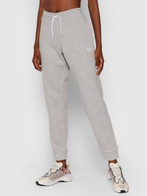 Reebok Spodnie dresowe Ri Fleece GS9371 Szary Regular Fit