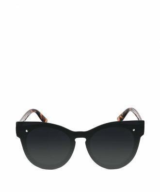Czarne okulary przeciwsłoneczne z motywem zwierzęcym ALBATE