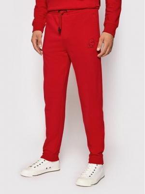 KARL LAGERFELD Spodnie dresowe 705080 512900 Czerwony Regular Fit