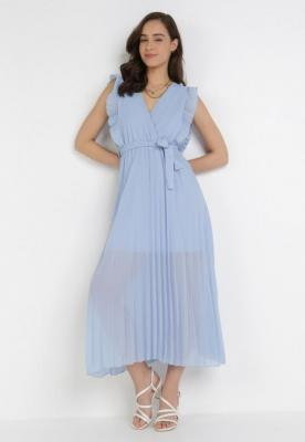 Jasnoniebieska Sukienka Tryxnessa