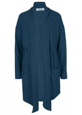 Bluza rozpinana z tunelem, z kolekcji Maite Kelly bonprix ciemnoniebieski