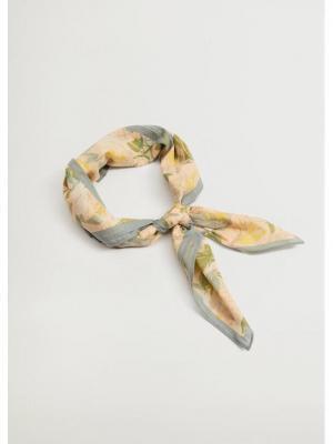 Mango Chusta Buganvil 17020137 Beżowy