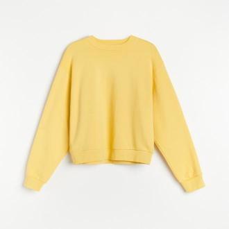 Reserved - PREMIUM Bluza z bawełny organicznej - Żółty