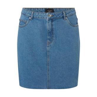Spódnica jeansowa PLUS SIZE z bawełny model 'Mikky'