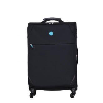 walizka medium High Class Collection Jones 70cm czarna