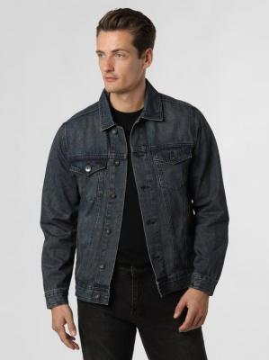 Redefined Rebel - Męska kurtka jeansowa – RRMarc, niebieski