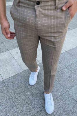 Spodnie męskie EDMOND BEIGE