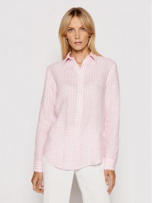 Polo Ralph Lauren Koszula 211838072001 Różowy Relaxed Fit