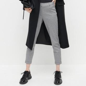 Reserved - Dzianinowe spodnie chino - Czarny