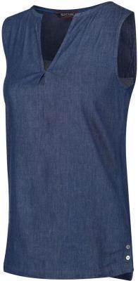 Regatta Jadine Top Kobiety, niebieski UK 10 | DE 36 2021 Koszulki bez rękawów