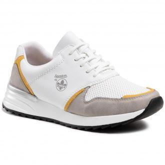 Sneakersy RIEKER - N8003-40 Grau
