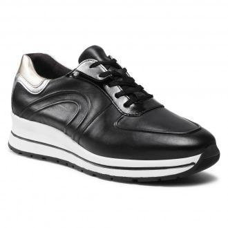 Sneakersy TAMARIS - 1-23733--26 Blk/Plain Comb 069