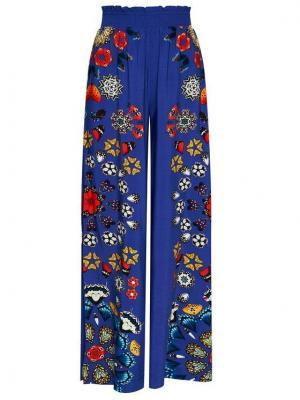 Desigual Spodnie materiałowe Chipre 21SWMW26 Granatowy Relaxed Fit