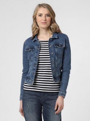 ONLY - Damska kurtka jeansowa – Onltia, niebieski