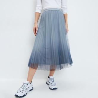 Mohito - Plisowana spódnica - Wielobarwny