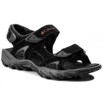 Sandały COLUMBIA - Santiam 3 Strap BM4625 Black/Mountain Red 010