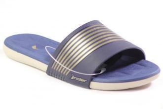KLAPKI RIDER - 23139 BEIGE/BLUE : Kolor - Granatowy, Rozmiar - 35.36