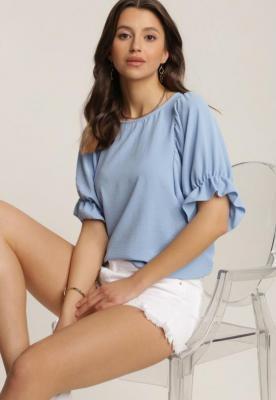 Niebieska Bluzka Sheda